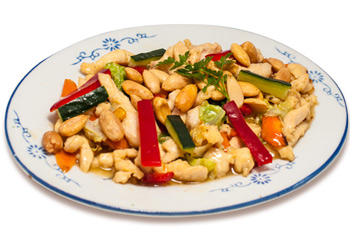 Chicken with almond